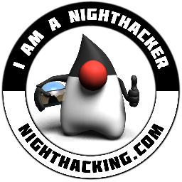 NightHacking sticker